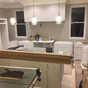 new kitchen electic installation in hadleigh