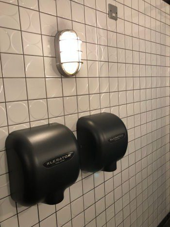 NEW BATHROOM LIGHTS IN SOUTHEND BAR