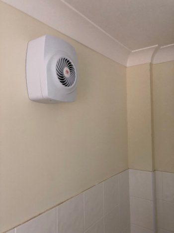 new fan installed in benfleet house