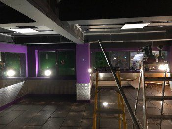 LEISURE FACILITY LIGHTING INSTALL ESSEX