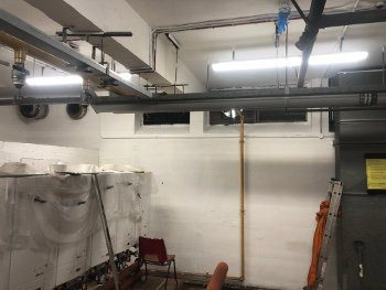 BOILER ROOM LIGHTING INSTALL SOUTHEND SS1