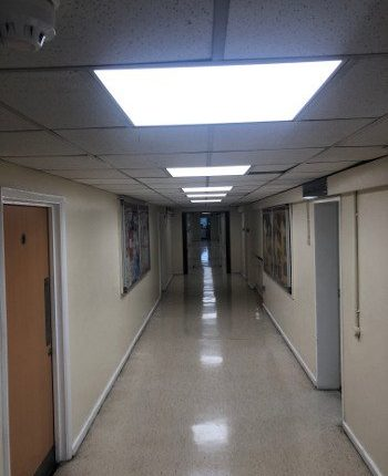 HALLWAY LIGHTING SCHOOL BILLERICAY