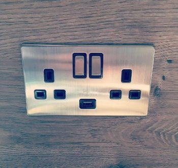 CHROME PLUG SOCKET INSTALLATION LAINDON