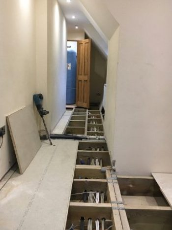 new wiring in southchurch house