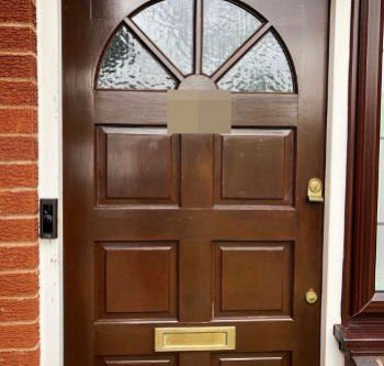 front door ring doorbell install hockley ss5